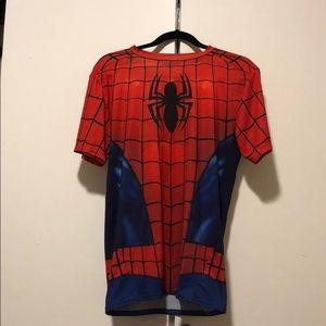 Spider-Man Under Armour Compression T-shirt